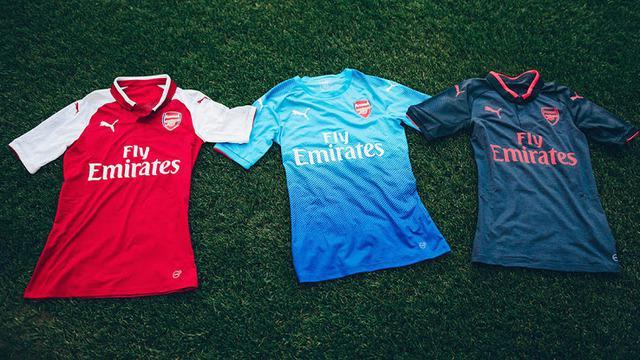 Camisetas de futbol arsenal 2017 2018