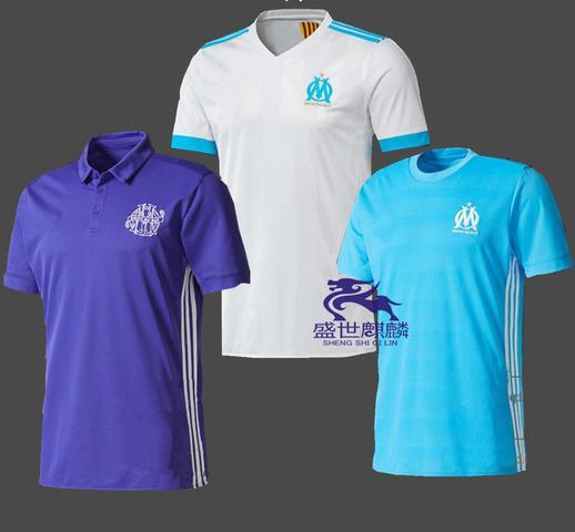 Camisetas de futbol olympique marsella 2017 2018