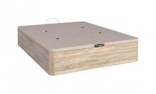 Canapé abatible de madera [ebro-3d]