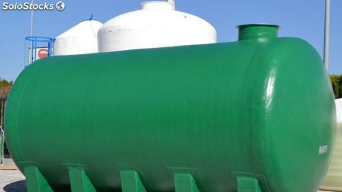 Deposito agua potable horizontal cunas 30.000 litros