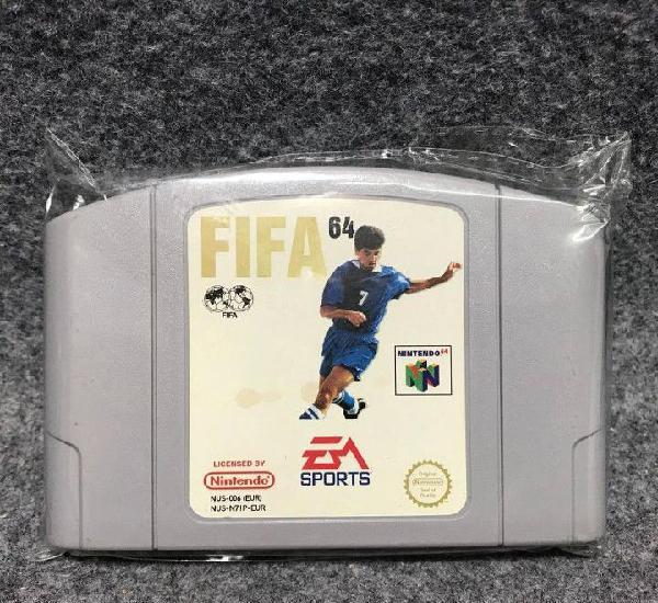 Fifa 64 nintendo 64 n64