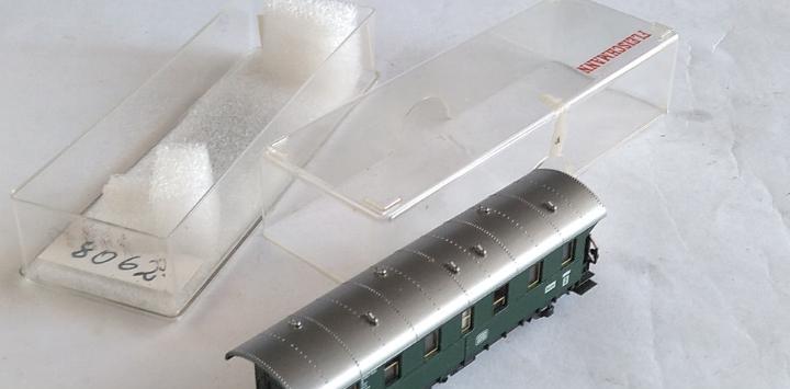 Fleischmann n vagón coche de pasajeros.en caja. válido