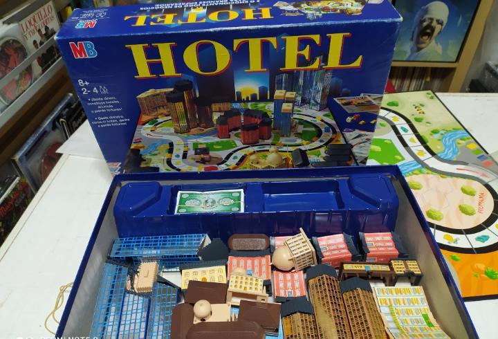Hotel mb juego de mesa completo apenas usado buen estado,