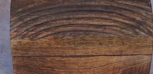 Joyero madera nuevo artesanal a mano y regalo