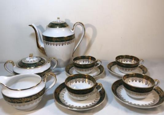 Juego café porcelana- copenhagen