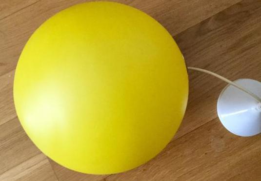 Lámpara de techo vintage globo