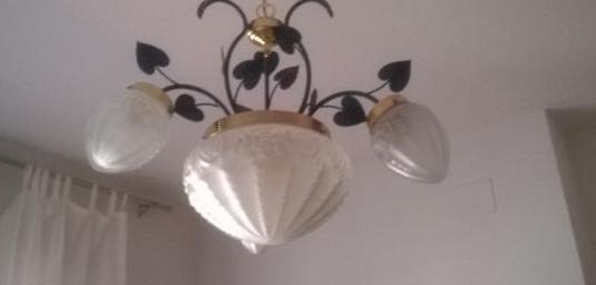 Lámpara estilo modernista
