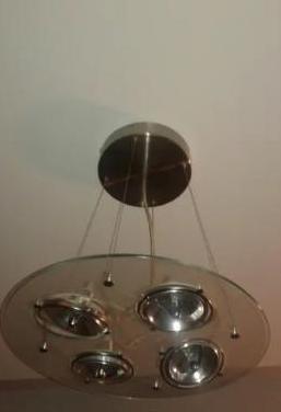 Lámpara salón moderna ikea