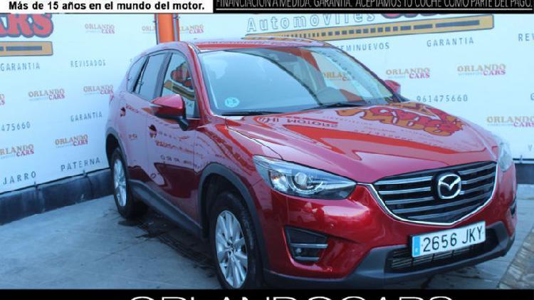 Mazda cx-5 2.2de luxury + premium negro awd aut. 150