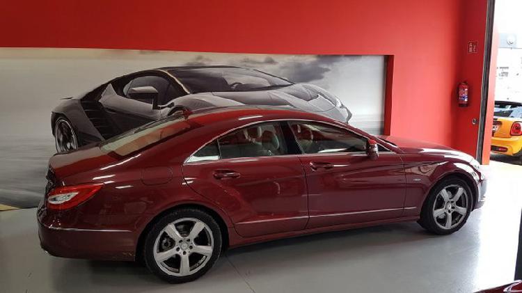 Mercedes-benz clase cls 350cdi be (9.75) aut.