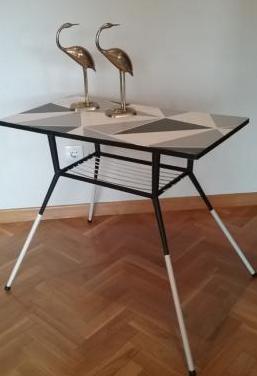 Mesa auxiliar parís vintage
