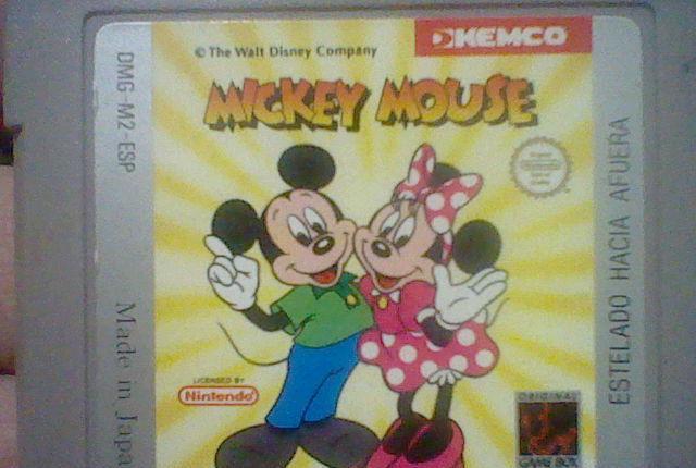 Mickey mouse gb game boy juego solo cartucho probado raro