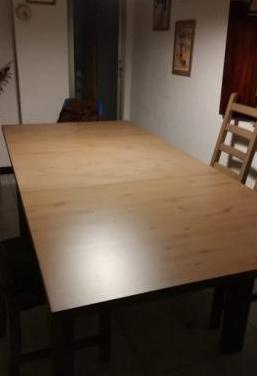 Mesa comedor extensible 4 sillas
