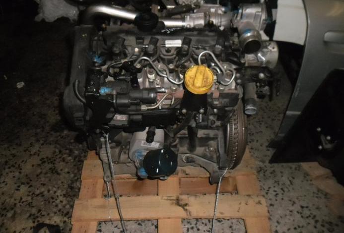 Motor completo tipo k9k b410, k9kb410 nissan juke 1.5