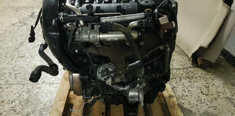 Motor completo tipo rhr del peugeot 407, 2.0 hdi