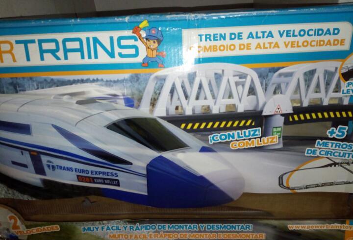 Power trains tren de alta velocidad
