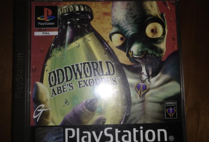 Ps1 oddworld, abe's exoddus