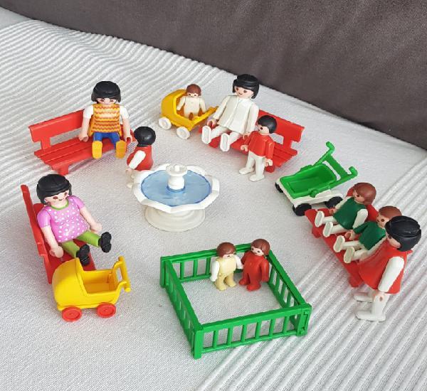 Parque infantil vintage playmobil