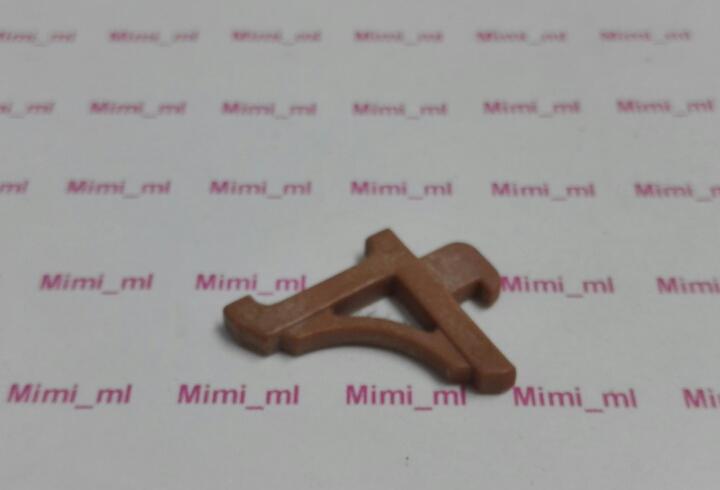 Playmobil 3461 enganche marrón pared casa oficina western
