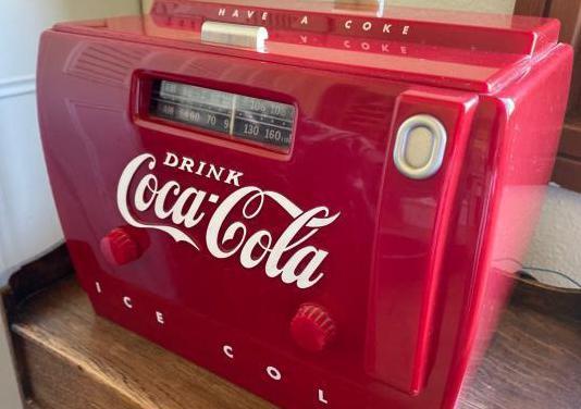 Radio cassette coca-cola vintage
