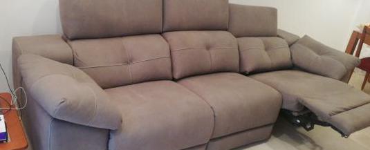Sofa nuevo eléctrico