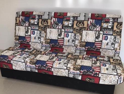 Sofá cama práctico