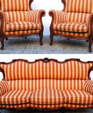 Sofá y sillones época