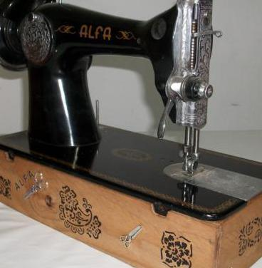 Soporte para máquina coser alfa