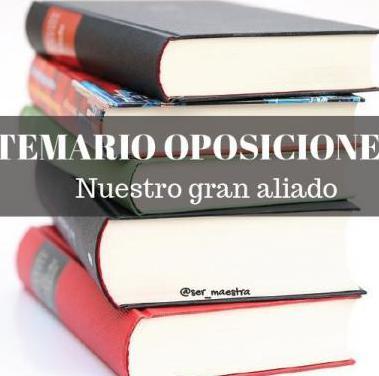 Temario oposiciones y fp