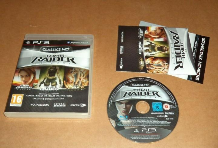 Tomb raider trilogy, completo para sony playstation 3, pal