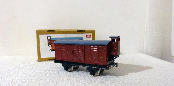 Vagón de mercancías paya - escala o