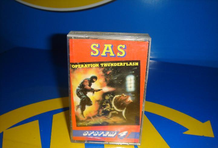 Video juego cassette -spectrum. sas: operation