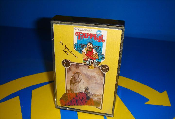 Video juego cassette -spectrum. tapper y dun darach-buen