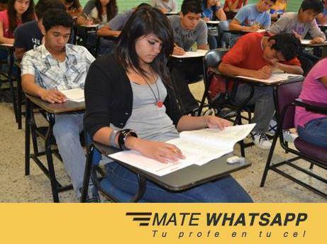 Resuevo examenes por whatsapp