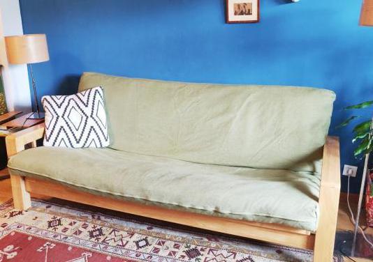 Sofá cama futón bifold