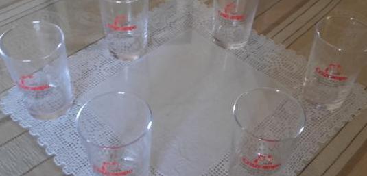 Vasos cristal coleccionista
