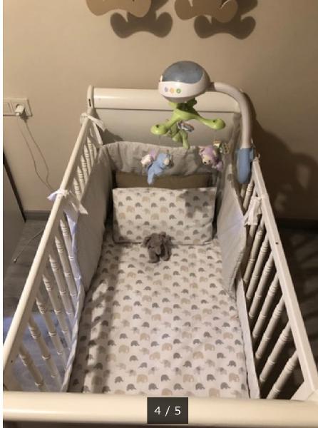 Accesorios cuna baby