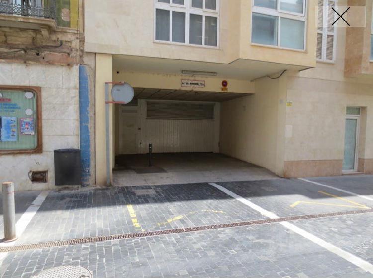 Alquiler parking plaza garaje cartagena