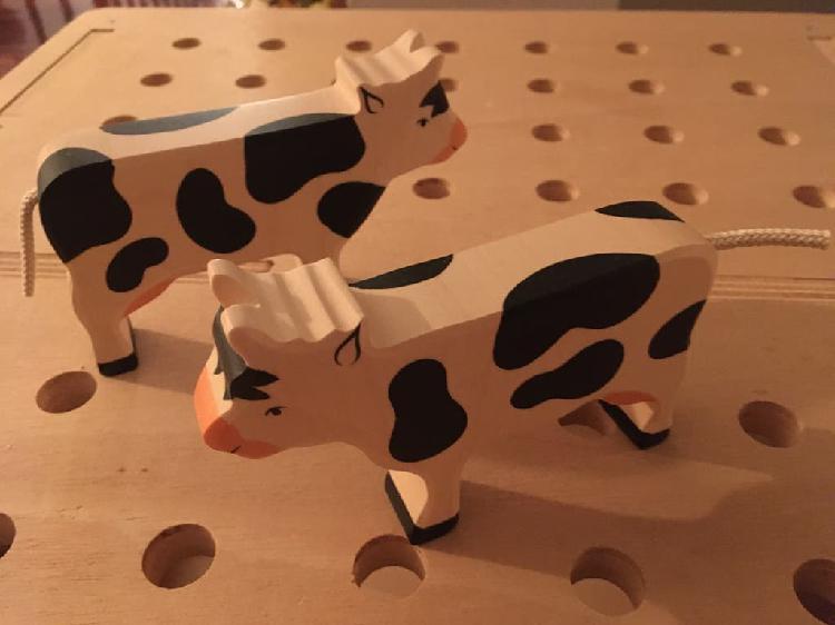 Animales holztiger vaca