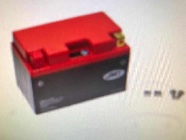 Batería de litio para moto