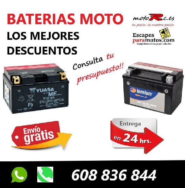 Baterias moto mejor precio envio 24 horas