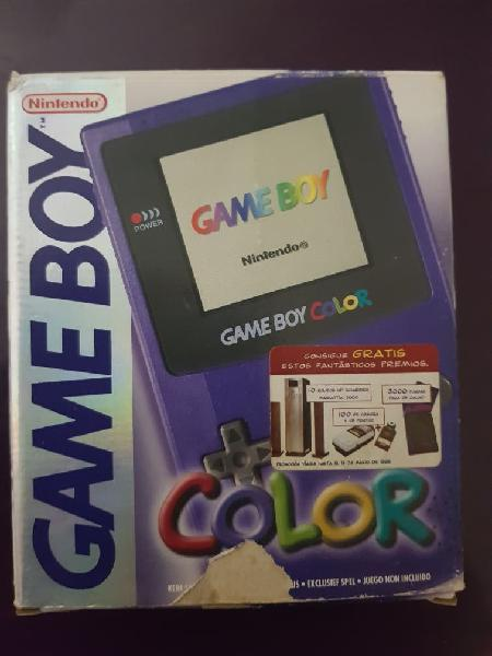 Consola game boy color