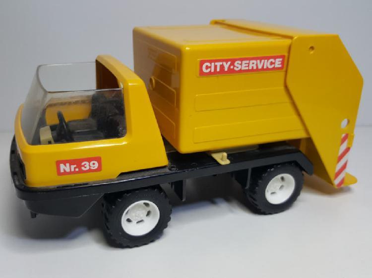 Camion basura playmobil 3470 vehiculo servicio