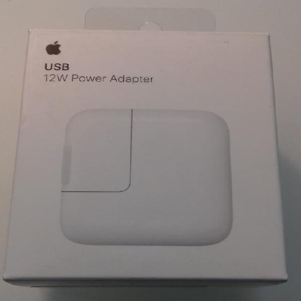 Cargador usb 12w apple nuevo iphone, ipad o ipod