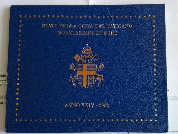 Cartera oficial vaticano 2002 muy rara