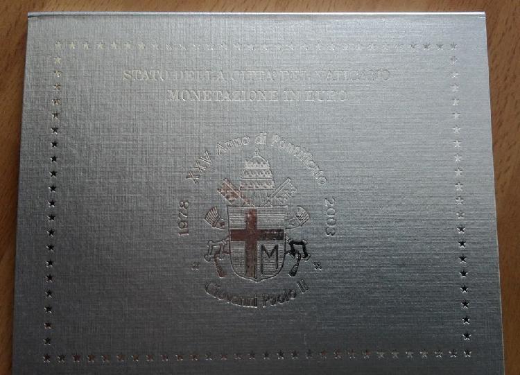 Cartera oficial vaticano 2003