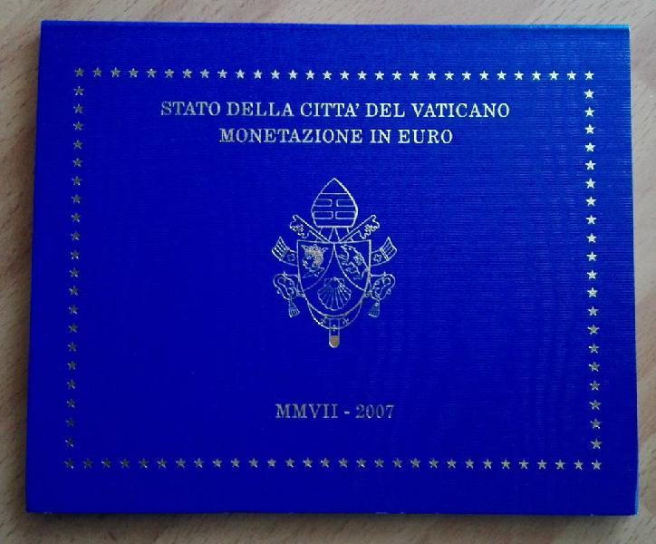 Cartera oficial vaticano 2007