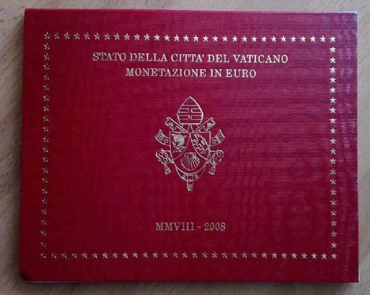Cartera oficial vaticano 2008