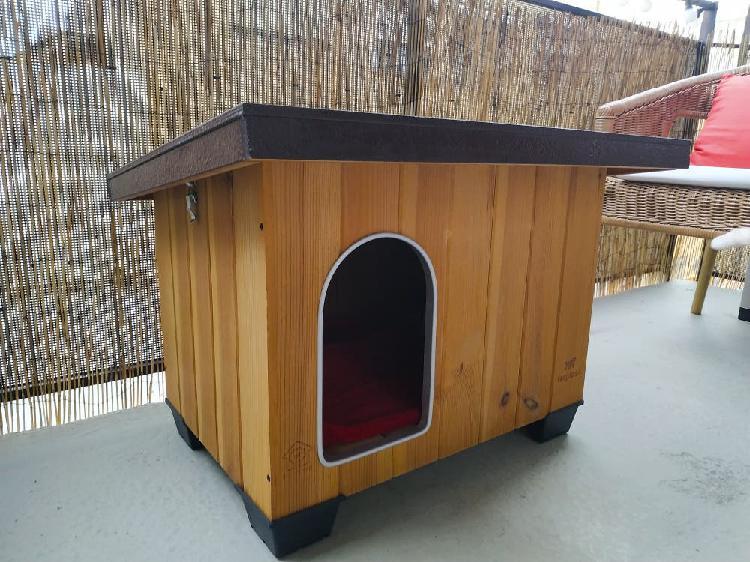 Caseta de exterior de kiwoko para perro o gato