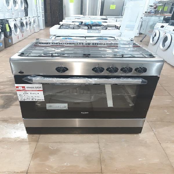 Cocina de gas con horno beko 4 fuegos convencional